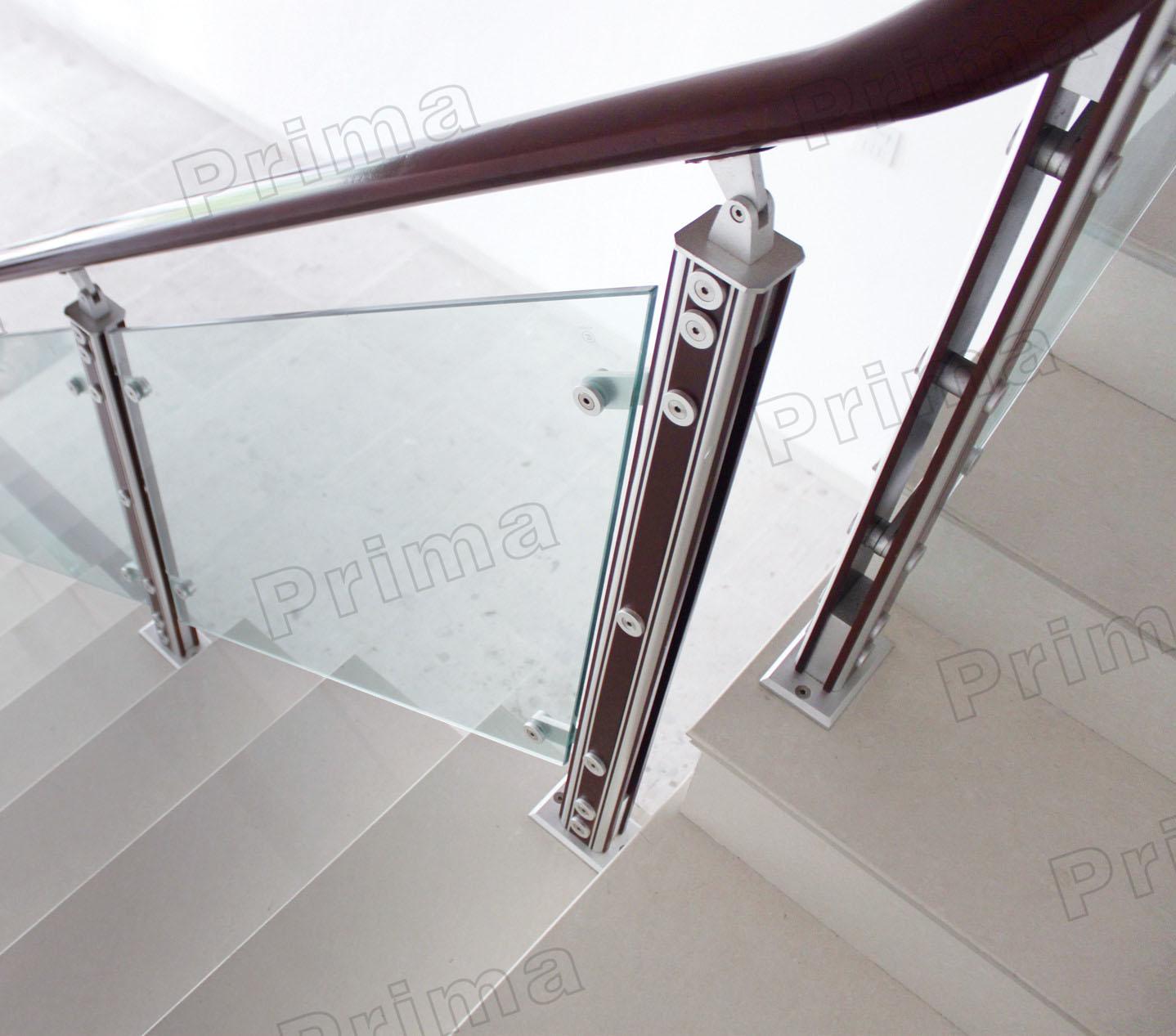 conception de conception de balcon d inox de balustrade inox de balcon montage en verre de balcon