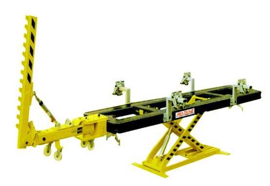 car body dent repair frame machine/car chassis straightening work ...