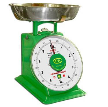 Vintage Retro Look Kitchen Food Mechanical Scale Tool Analog Dial Removable Bowl