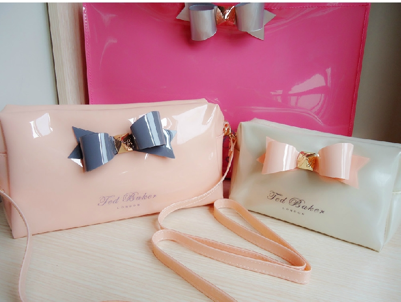 Wholesale Ted Baker cosmetic bag original Ted baker bowknot makeup bags  candy 9e9152c5b42af