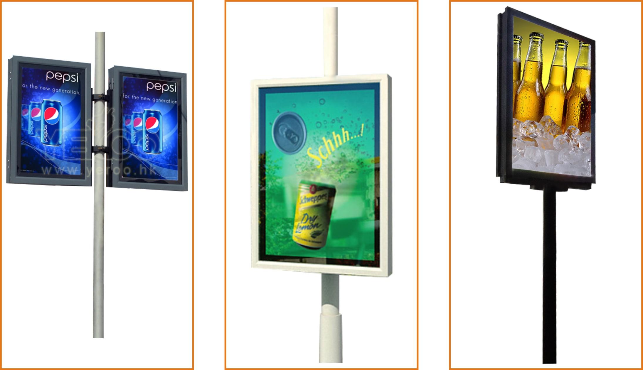 Strong branding but competitively price advertising lightpole ... for Light Box Branding  156eri