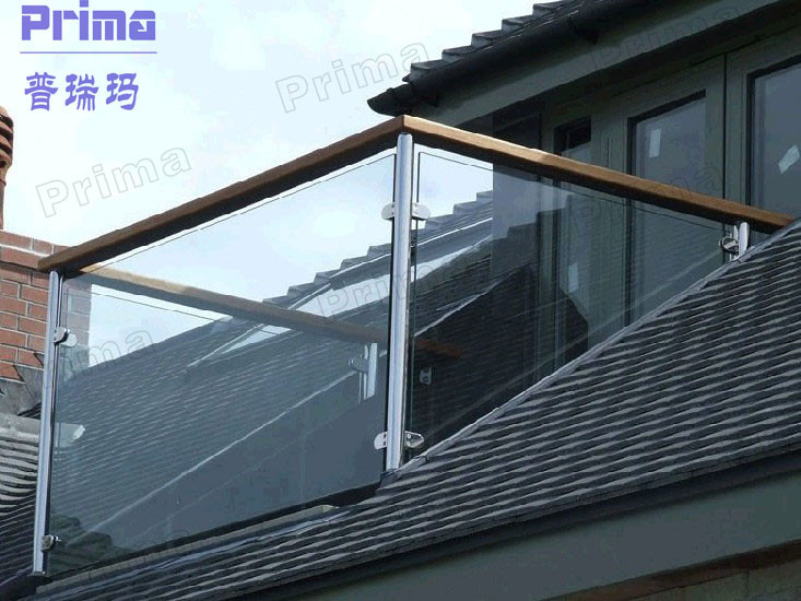 outdoor aluminum balcony glass railing system for sale glass
