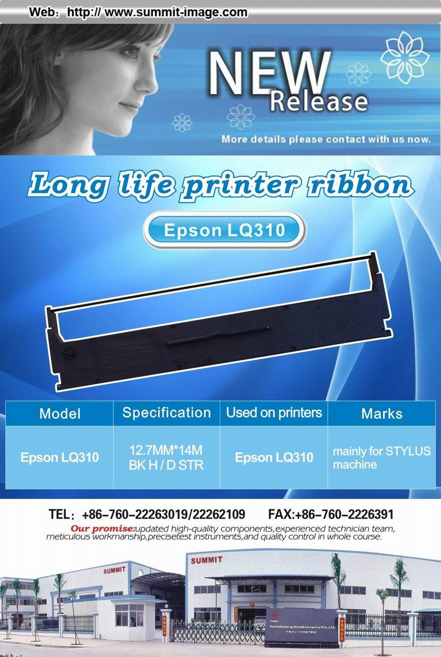 Compatibe Epson Lq310 Printer Ribbon For Sale Compatible Panasonic Seikosha Star Simens Models Like Erc30 Erc38 Lq2170 Lq1170 1000 Mx100 Mx80 Dl3800 Tally E40 Tally2250 Tally2150 Ibm2380lexmark