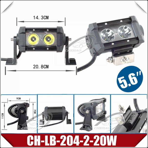 56 20w small led light bar cree led work light with screw ch lb basic info aloadofball Choice Image