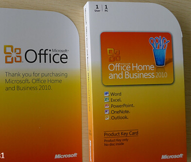 microsoft office professional vs home and business 2010