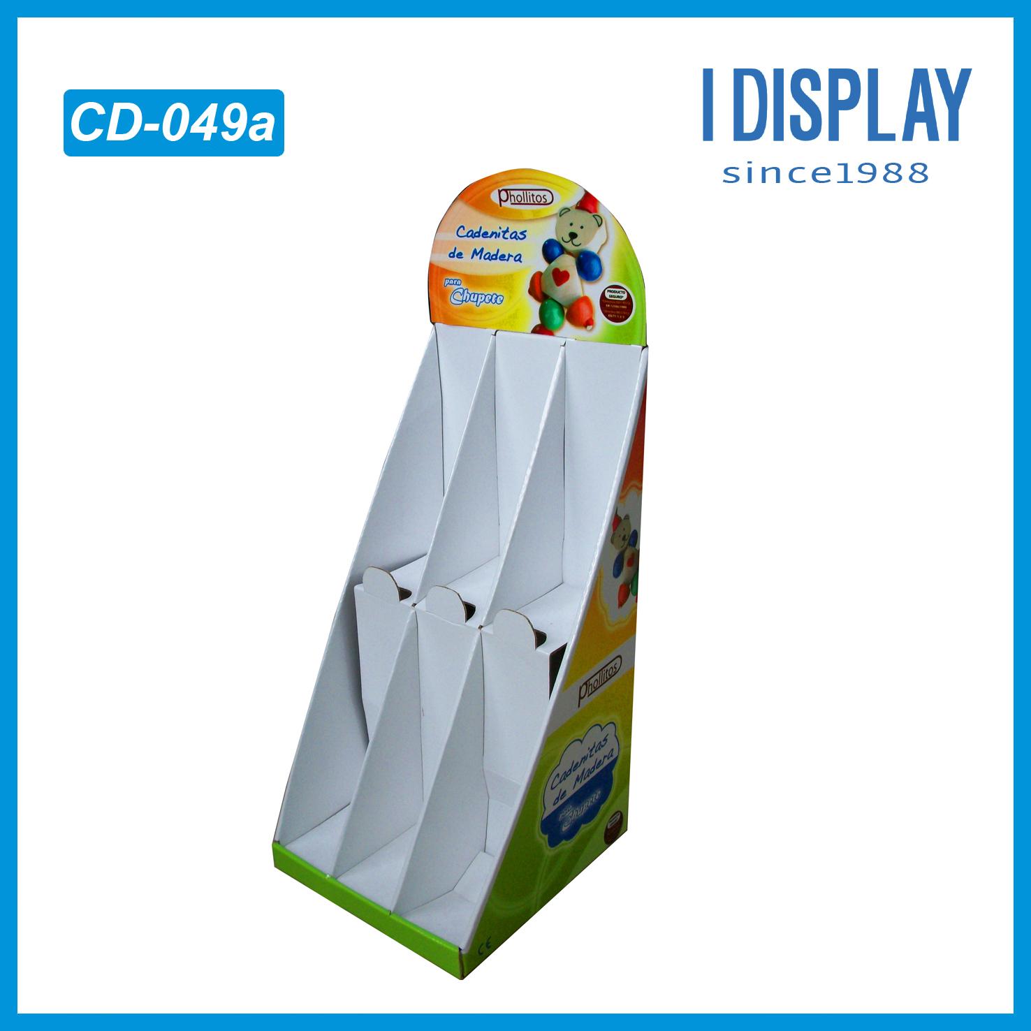 Pop Display Cardboard Greeting Card Display Stand Counter Display