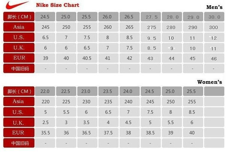 nike women's shoe size to men's off 54