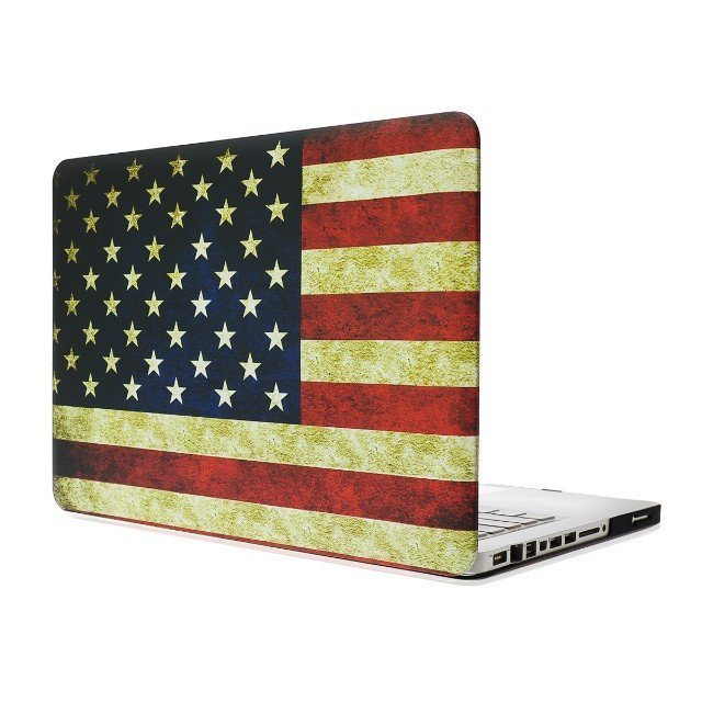 """For Apple MacBook Pro 13/"""" 15/'/' Pattern Hard Rubberized Hard Case Cover Protector"""