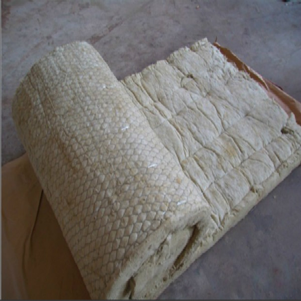 100kg m3 rock wool blanket rock wool roll with gi wire for 3 mineral wool insulation