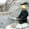 hydraulic rock splitter for rock demolition concrete splitting