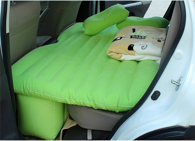 Cheap Price Thick Car Back Seat Cover Mats Inflatable