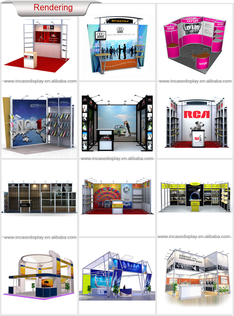 Exhibition Shell Scheme For Sale : Customized trade show exhibition booth shell scheme