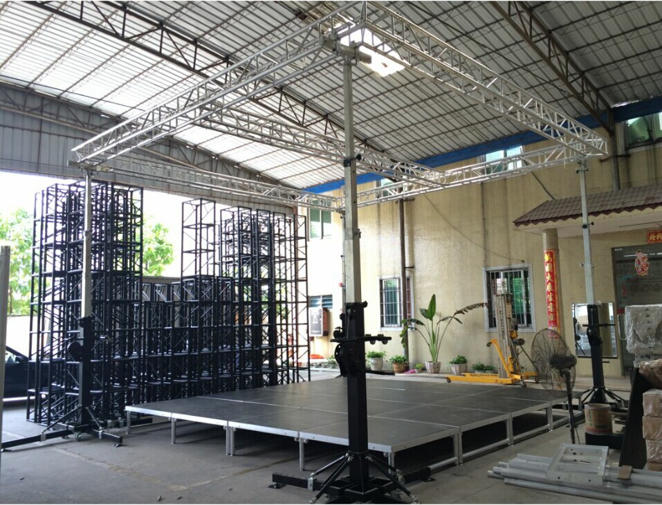 TUV Concert Truss 3 Easy To Use 4 Design Many Kinds Of Structure 5 Type Length1 4m 6 Widely Used In Exhibition Shows Outdoor Promotion