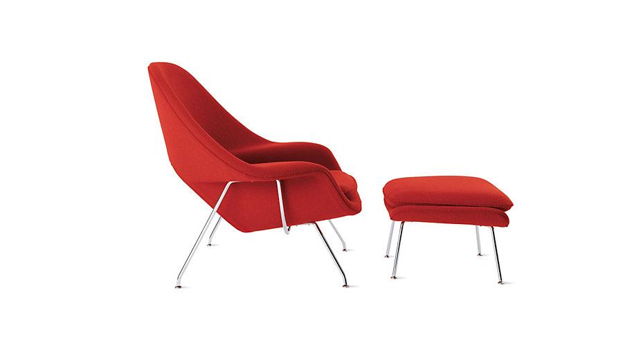 Womb chair,EERO SAARINEN womb chair,chaise lounge,lounge chair ... on