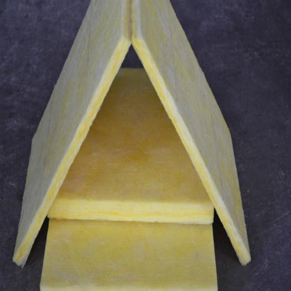 Glass wool board heat insulation glass wool sheet with for Glass fiber board insulation