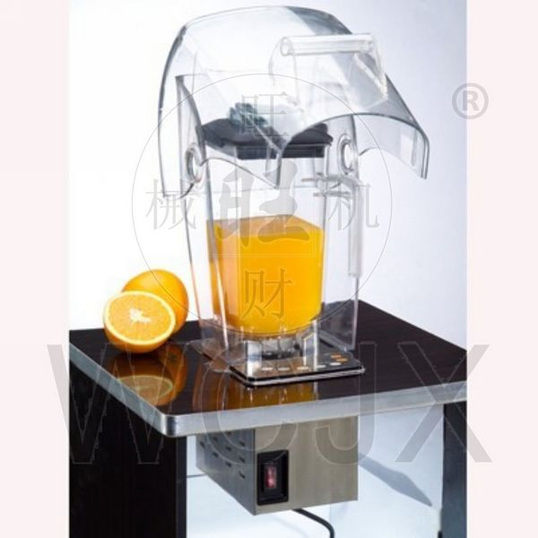 Industrial Size Blenders ~ Bl build in table commercial blender smoothies