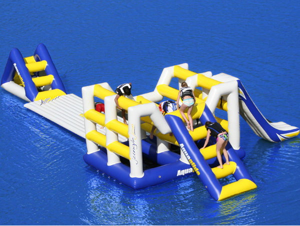 Inflatable Water Parks  Blast Zone Canada