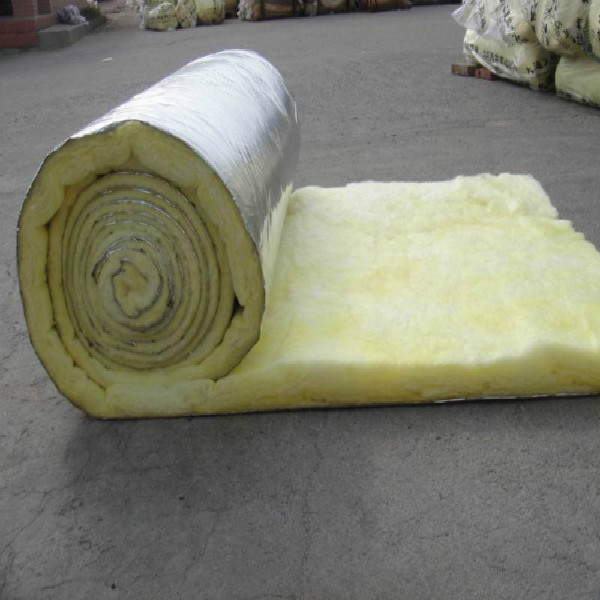 Heat insulation glass wool blanket with for for Fiberglass wool insulation