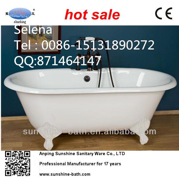 quality clawfoot cast iron bathtub