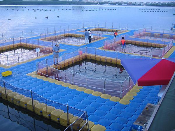 Hdpe pontoons for sale hdpe pontoon manufacturer from for Floating fishing platform