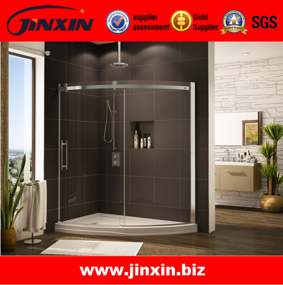 Frameless glass shower doors amazon 100 solid glass for Solid glass shower doors
