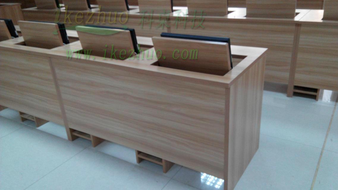 School student computer room computer desk computer desk for Flip top computer desk
