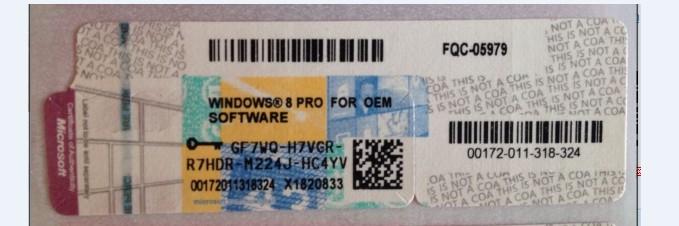 windows server 2008 2012 r2 coa sticker for microsoft coa
