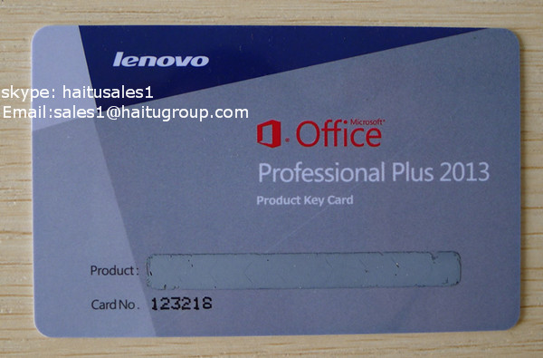 New products office 2013 professional plus product key card lenovo card keydeal - Office professional plus 2013 key ...
