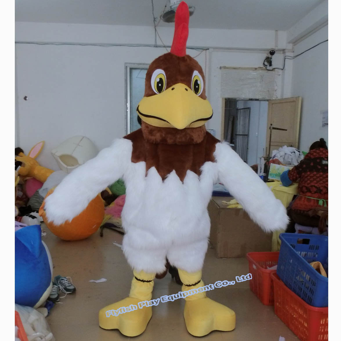 naked adult services mascot