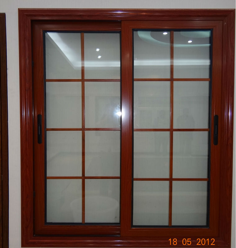 Home Windows Design In India: Aluminium Alloy Sliding Window Grill Design For Sale