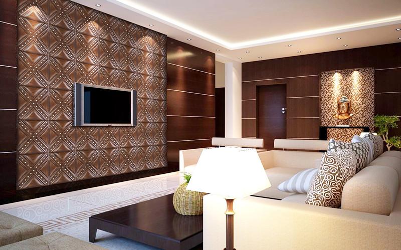 Decorative Soft Wall 3d Soft Wall Interior Decoration Pvc