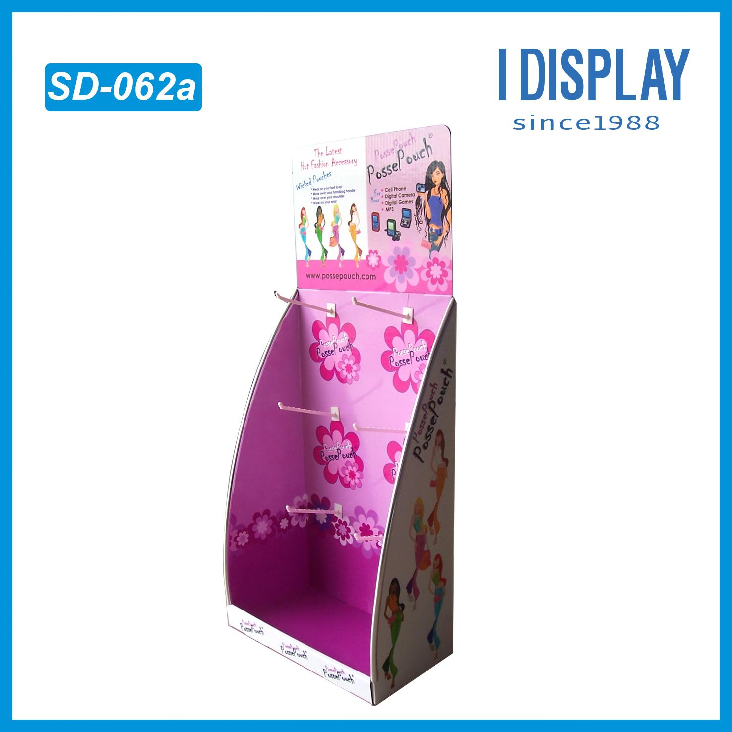Cardboard E Flute Corrugated Displaypoint Of Purchase Displaye