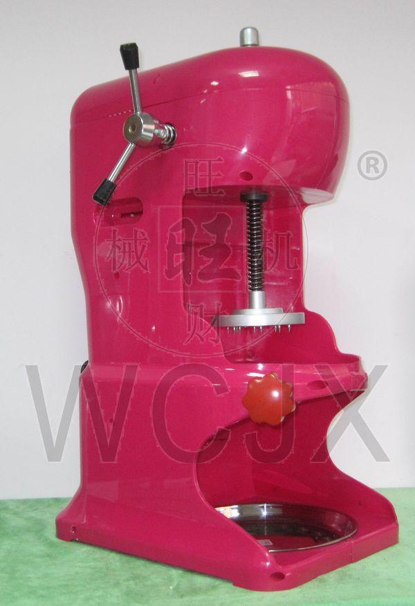 Machine à glace commerciale rasée